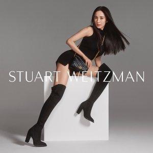 3折起 亮片高跟鞋低至€119Stuart Weitzman 美鞋大促 收超经典过膝靴等 女明星们的最爱
