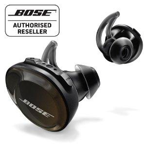 Bose史低价!黑色款,运动无线耳机