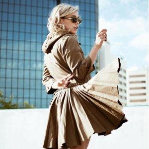 低至1折 迷彩卫衣$325Valentino 美衣美裙特卖会提前享 小爱心印花半裙$110