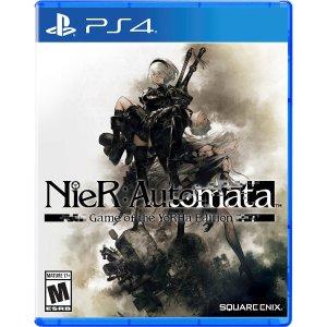 $27.99(原价$39.99)《尼尔 机械纪元 尤尔哈版》PS4 实体版