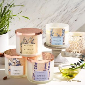 Buy One Get One Free + $10 Off $303-Wick Candle @ Bath & Body Works
