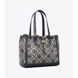 Tory BurchT Monogram Jacquard Small Tote BagSession is about to end