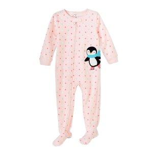 7843cfc68 Carter'sBaby Girls' 12M-4T Penguin Fleece Sleep ...