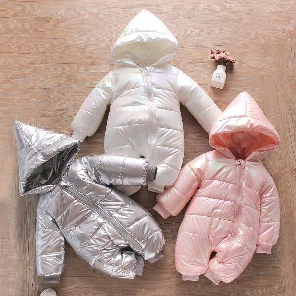 小童保暖连身棉服