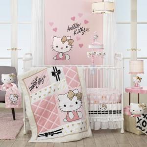 $8.99起Lambs & Ivy 超可爱儿童房台灯、床品、墙饰、玩偶特卖
