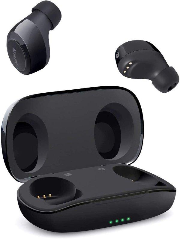 新低价:Aukey 防泼溅蓝牙5.0 运动无线耳机