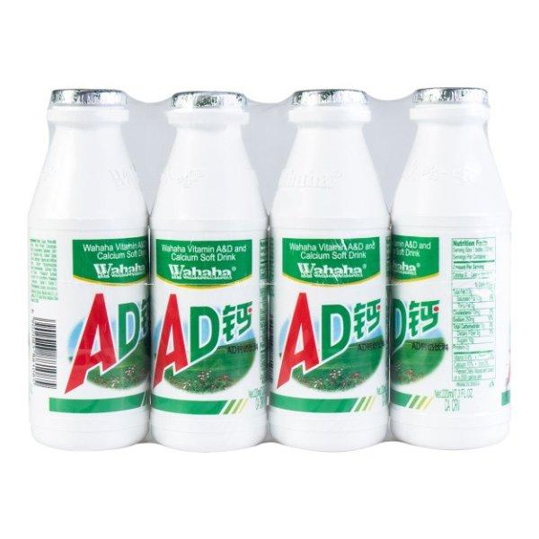 娃哈哈 AD钙奶饮品 4瓶连装 880ml