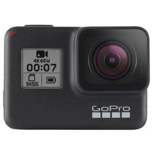 $329.99 送额外充电套装GoPro HERO7 Black 防水4K运动相机