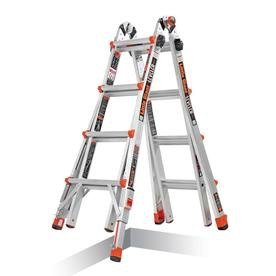 Little Giant Ladders Leveler Aluminum 18-ft Reach Type 1A - 300 lbs. Capacity Telescoping Multi-Position Ladder @ Lowes