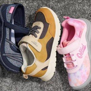 新款低至5折 夏日款$3起OshKosh BGosh 儿童秋冬鞋款大量上新