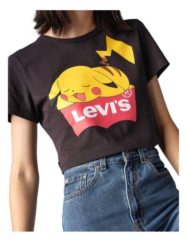 ® x Pokemon短袖T恤