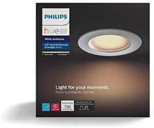 $25.5 包邮Philips Hue 801506 White Ambiance 5/6