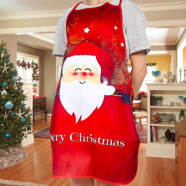 圣诞装饰围裙