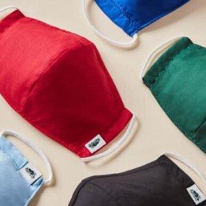 $22Roots 多款口罩 轻薄纱线舒适透气 可反复使用 可放置过滤器