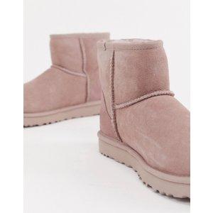 ASOSUGG Classic Mini II Pink 雪地靴   ASOS