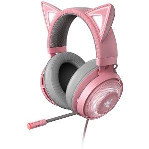 RazerAU Kraken Kitty Chroma USB 游戏耳机
