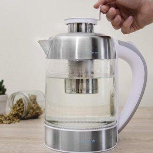 折后€26.7 滤网可单独拆卸Cecotec 养生电茶壶热促 一杯清茶开启美妙一天