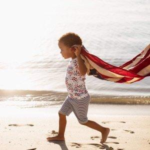 GAP儿童有机棉睡衣4.8折收