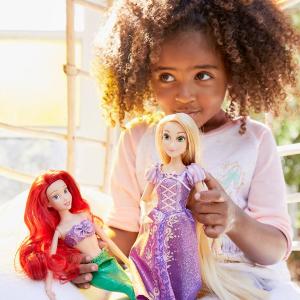 一个$14.95  两个则$12/个迪士尼官网 多款经典人物娃娃优惠