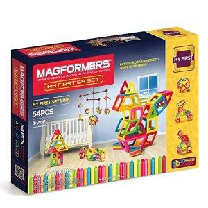 低至4.8折 $17.29起Magformers My First 系列 儿童趣味拼搭磁力片套装,开发智力