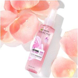 $8.52(原价$10.49)Garnier Skinactive 玫瑰水喷雾 舒缓敏感肌 随时随地保湿