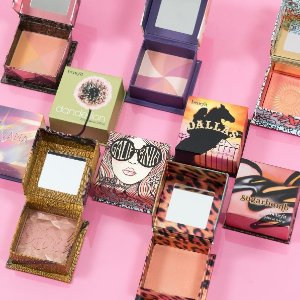 Today Only! 25% OffFull Size Powder Blushes & Highlighters @ Benefit Cosmetics