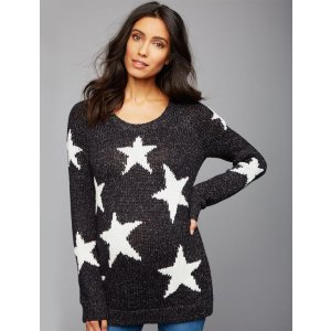 A Pea in the PodStar Maternity Sweater