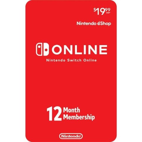 Free $5 gift cardNintendo Switch Online 12-Month Individual/Family Membership [Digital]