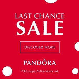 低至3.5折+额外8折!£12收耳骨夹!Pandora 夏促今晚结束!买断200件单品的网站再看看?!