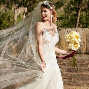 最高立减$500上新:David's Bridal 婚纱热卖 部分款式再降 仙女的婚礼必备