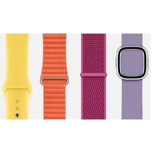 $24.99 两款五色可选Apple Watch 44mm 运动型表带 / 回环式运动表带