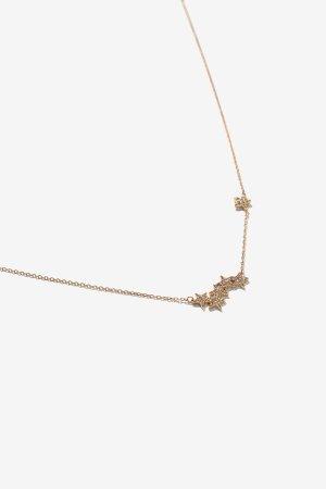 Edison Gold 星星项链