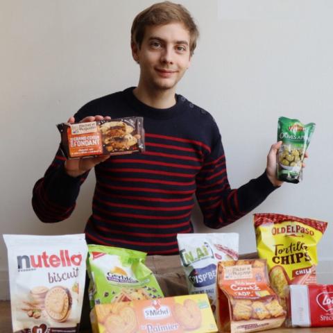 均价€2-€3 到底值不值得买?法国超市零食大测评 法国小哥和中国妹子的零食红黑榜