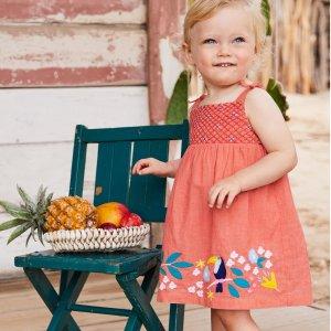 全部7.5折 支持免费退货上新:Mini Boden官网 儿童夏季新款热卖