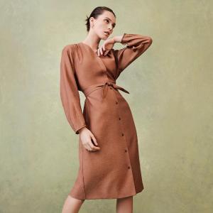$39.9收封面款衬衫裙Uniqlo 舒适连衣裙连体裤 抢鲜热卖