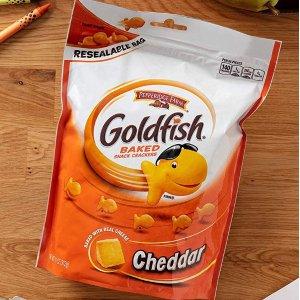 现价$8.98 (原价$11.97)Pepperidge Farm Goldfish 小金鱼芝士饼干 11oz 3包