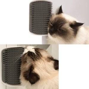 WWVVPET 猫咪墙角按摩梳毛器