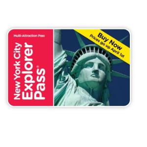 最高5折+额外减$5Go Card 纽约景点探索套票 限时特惠
