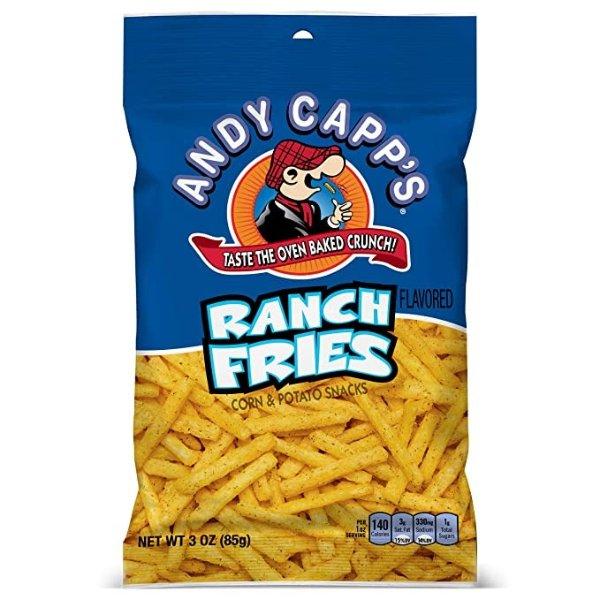Andy Capp's ranch酱汁味薯条 3oz 12包