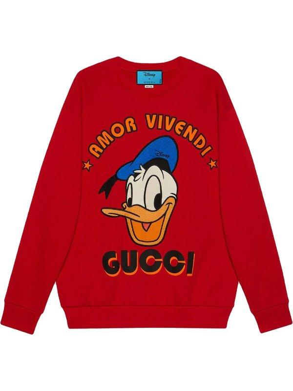 x Disney 唐老鸭卫衣