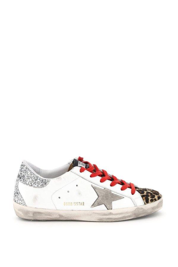 super-star 女士亮片小脏鞋