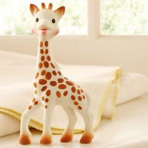 4.6折起 千万妈妈的选择Sophie Giraffe苏菲小鹿 风靡全球的宝宝玩具热卖