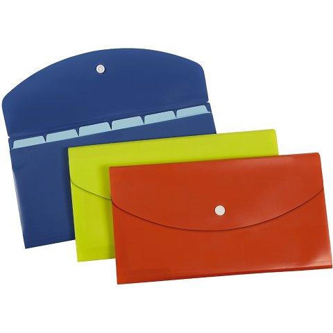 Pendaflex Slimline 7 Pocket File, Check Size