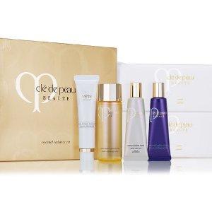 $125New essential radiance set ($272 Value) @ Cle de Peau Beaute