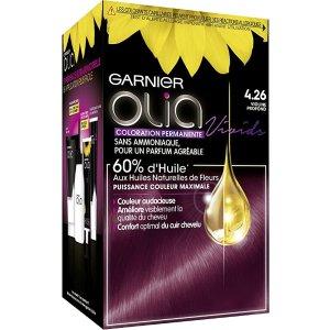 Garnier紫色染发剂