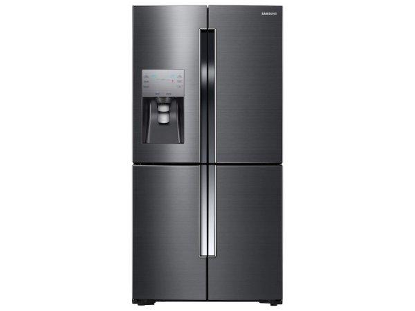 四门黑钢法式冰箱