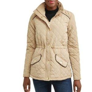 $10.8(Org. $23.9)JASON MAXWELL Women's Mock Neck jacket @ Walmart