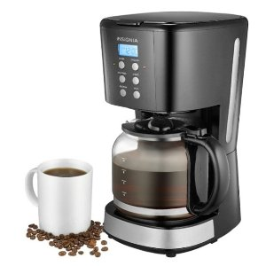 $14.99Best Buy Insignia 12-Cup Coffee Maker