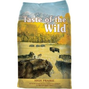 Taste of the WildHigh Prairie Grain-Free Dry Dog Food at Low Prices - Free Shipping at Chewy.com