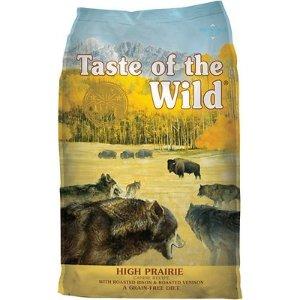 Taste of the Wild野牛鹿肉味无谷狗粮 28lb